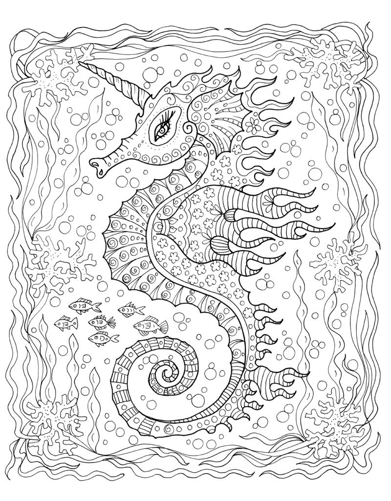 Explore whimsical underwater worlds! to Zendoodle