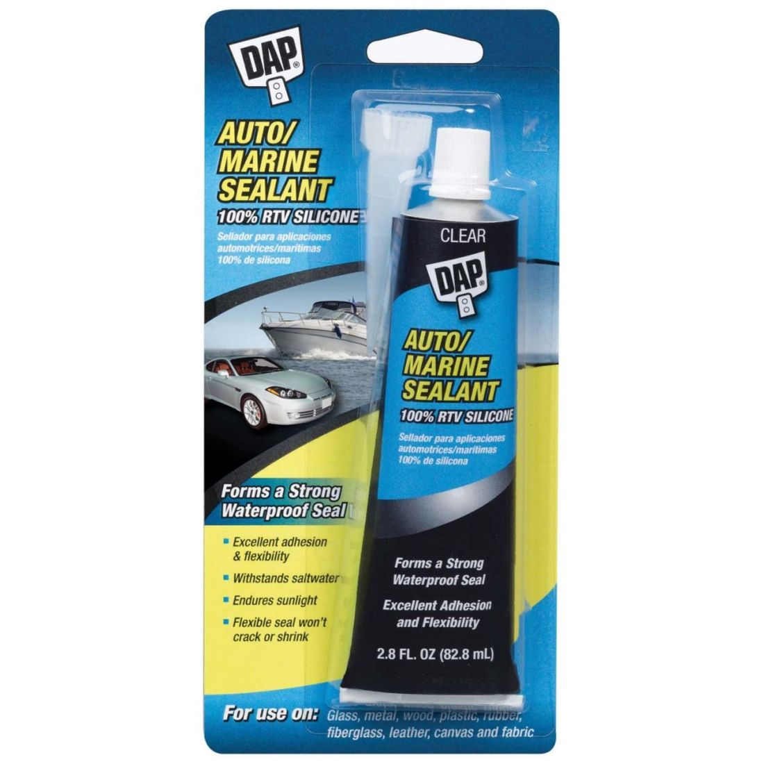 Dap automarine silicone sealant 00694 automotive