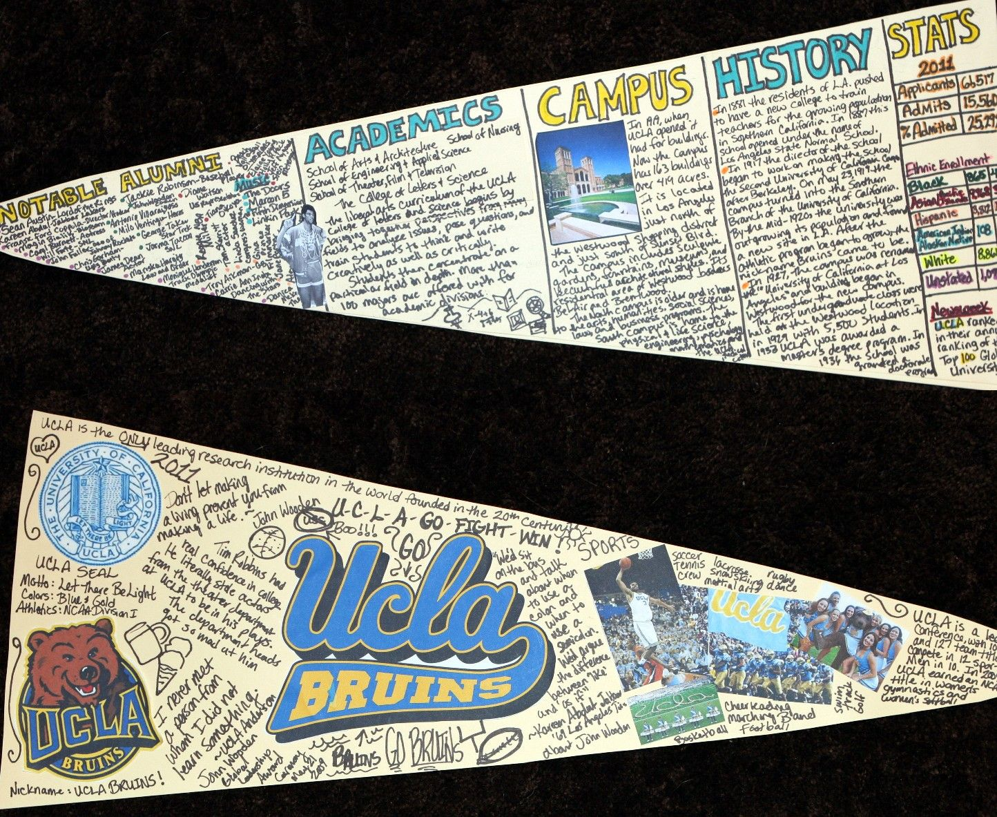 College Research Pennant Project Is Could Surely Be