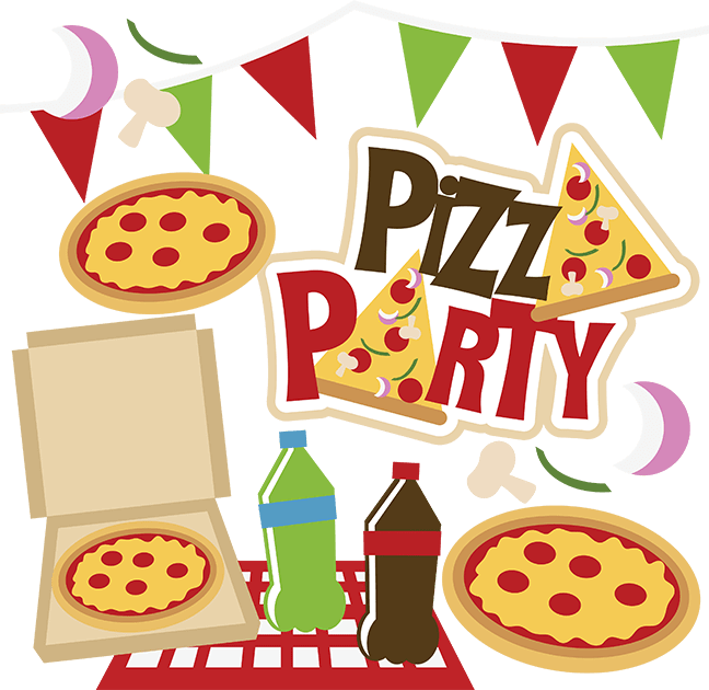 Pizza Party SVG Collection PizzaParty Pinterest