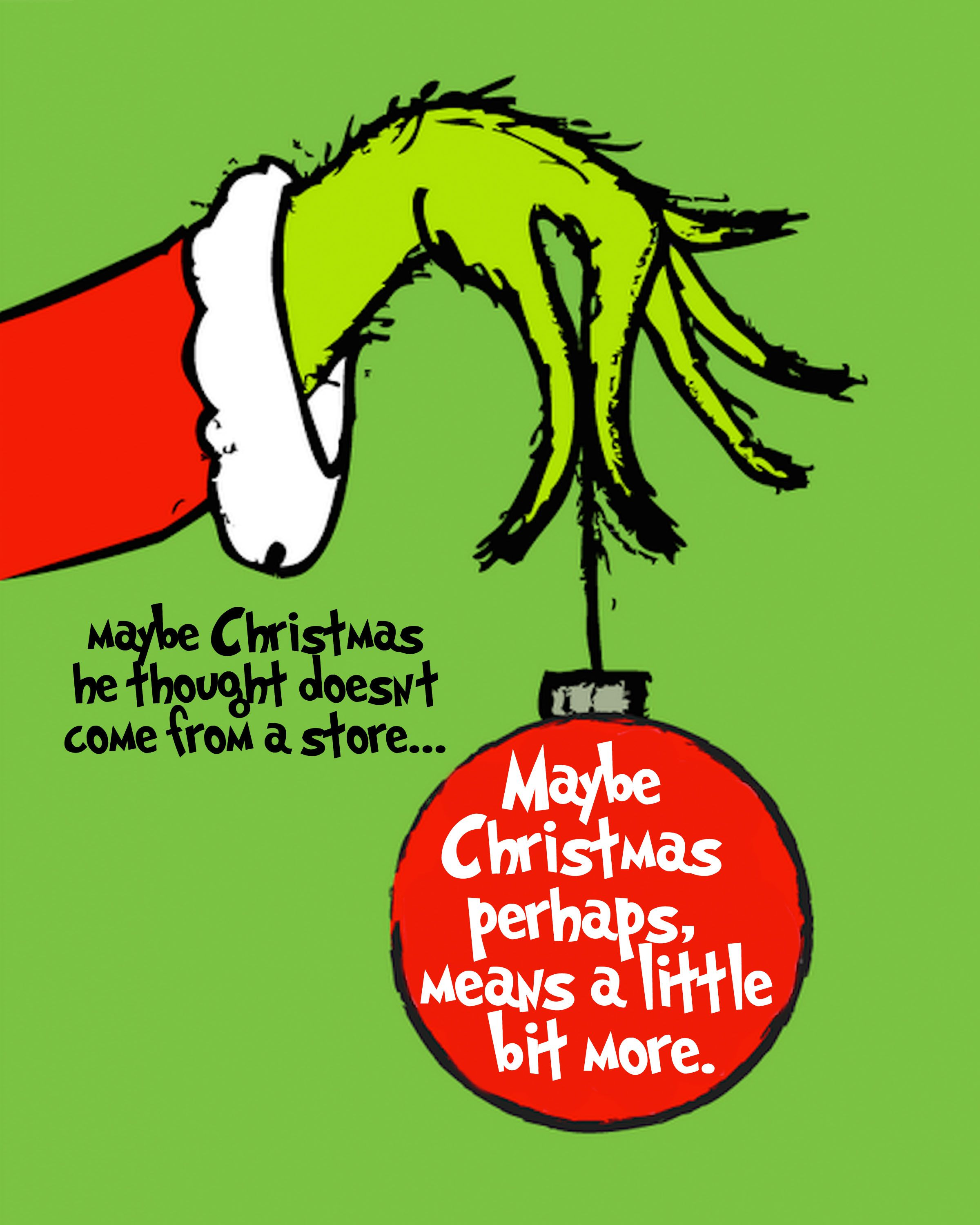 Grinch Free Christmas Printable Grinch, Thanksgiving and