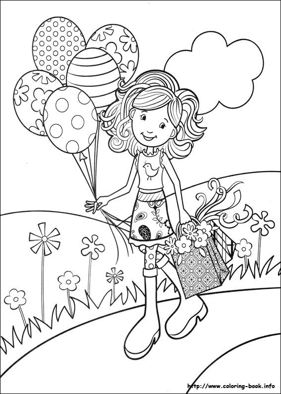 1000 images about groovy girl coloring pages on pinterest