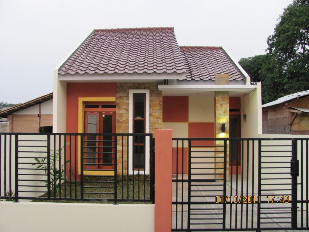 60 Gambar Tampak Depan Rumah Minimalis 1 Lantai Sebuah