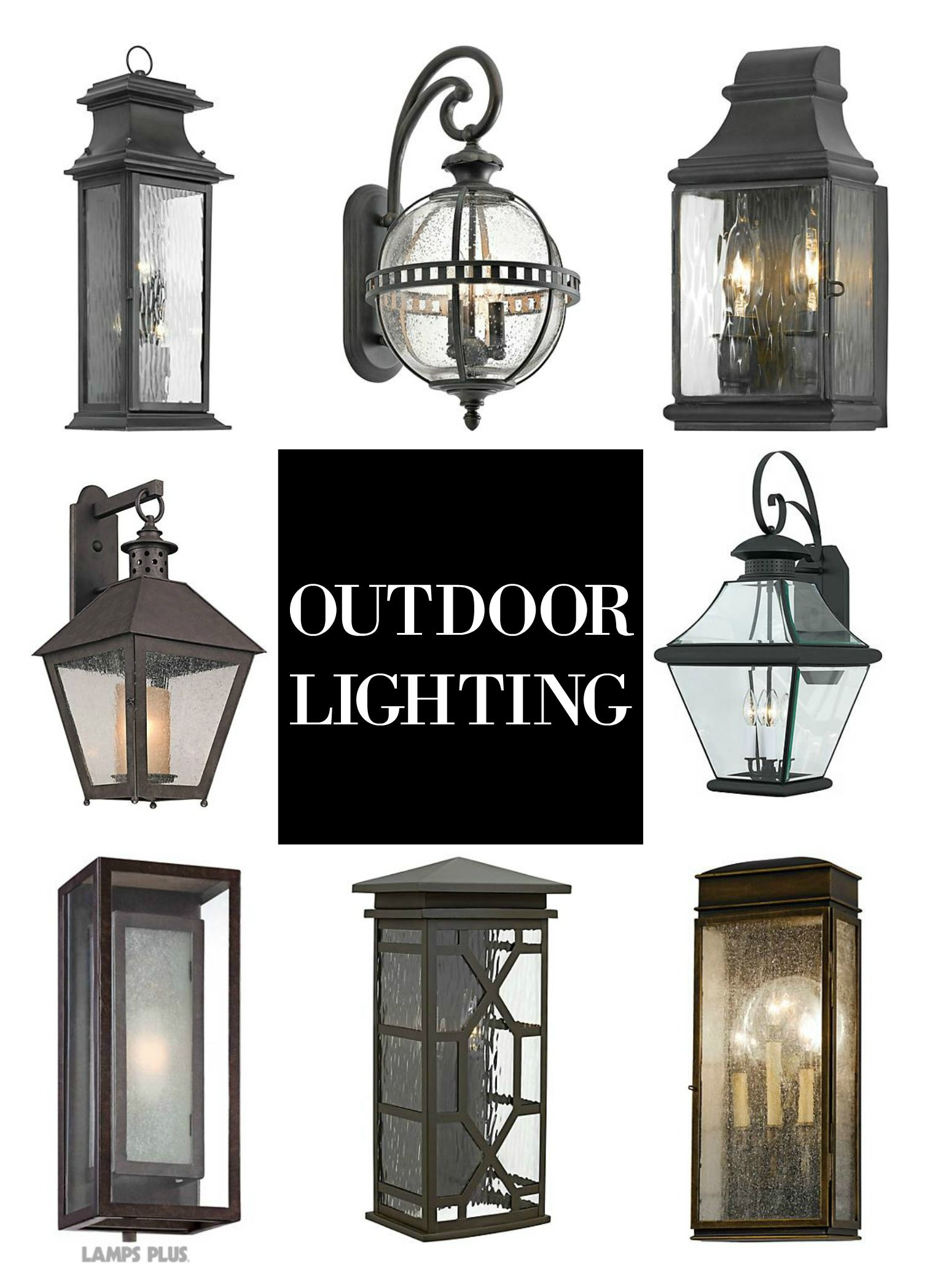 Outdoor Lighting Lantern Wall Sconces Perfect for a