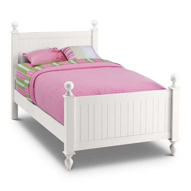 Awesome White Twin Bed For Your Kids Bedroom