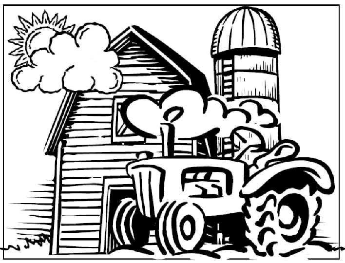 free farm coloring pages farm animals coloring pages free
