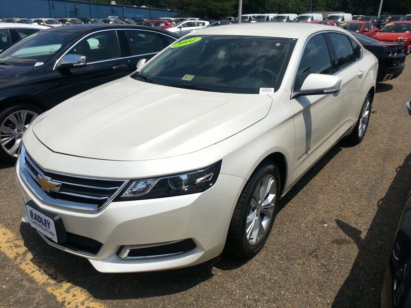 2014 Chevy Impala White Diamond Cars Pinterest 2014