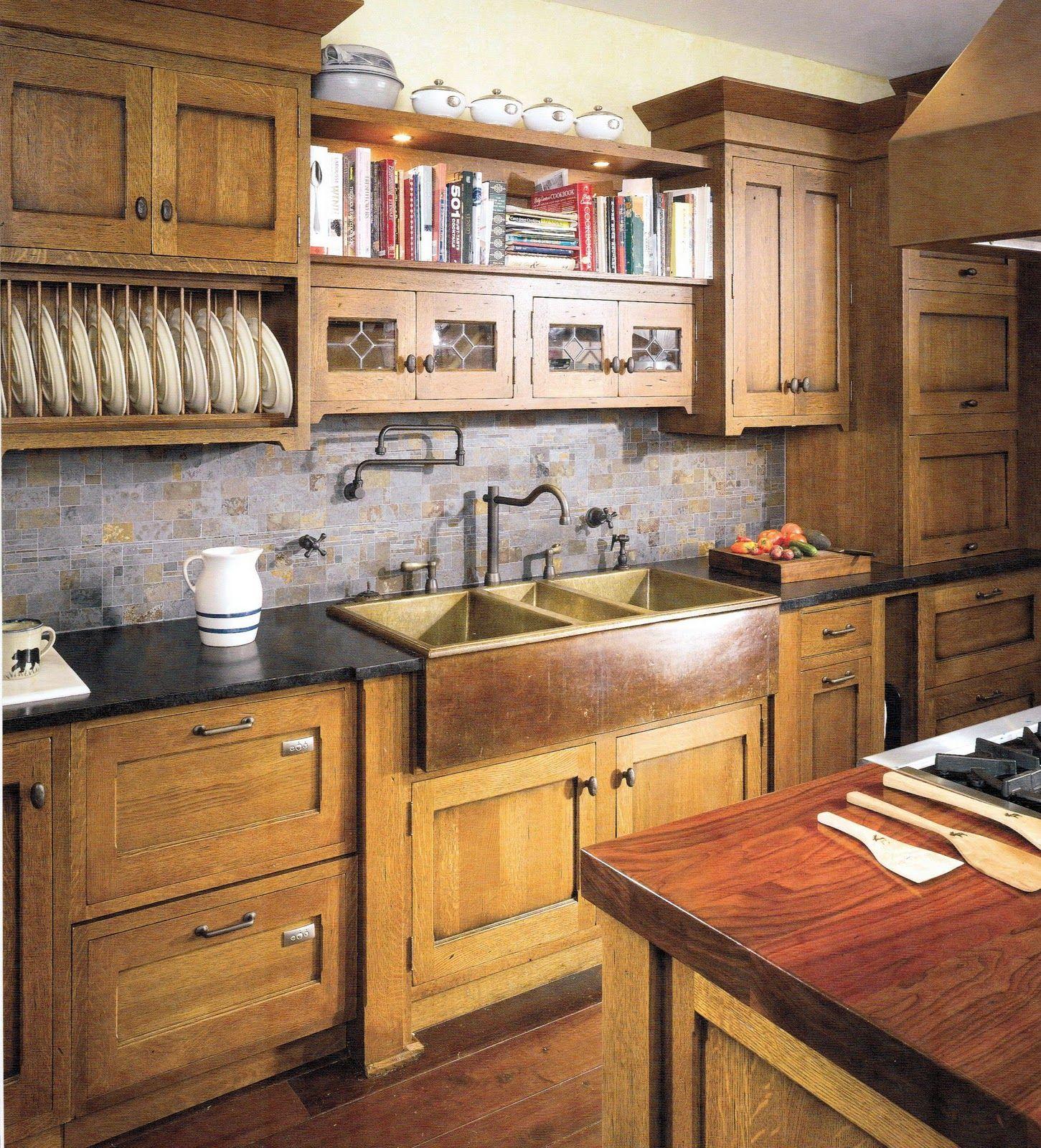Craftsman Kitchen Inspiration Hoosier Style Cabinetry