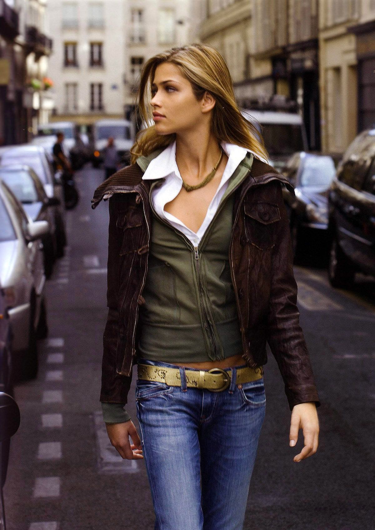 kodisha Ana Beatriz Barros Babies Got Her Blue Jeans On