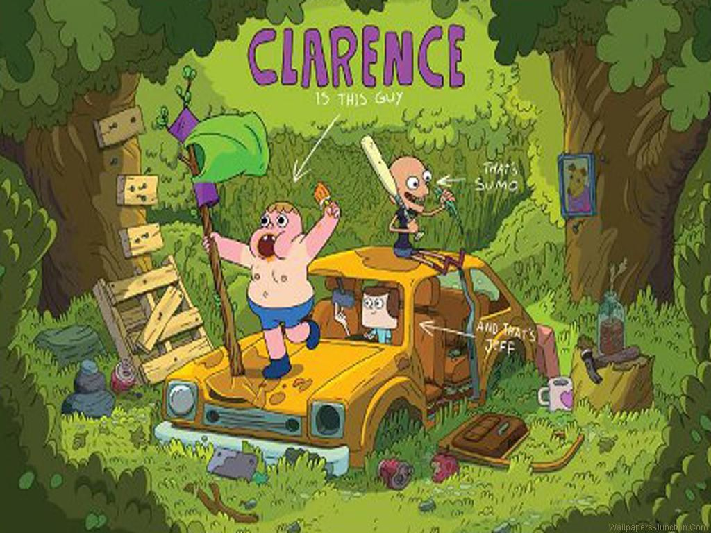 Clarence Cartoon Wallpapers Clarence on Cartoon Network