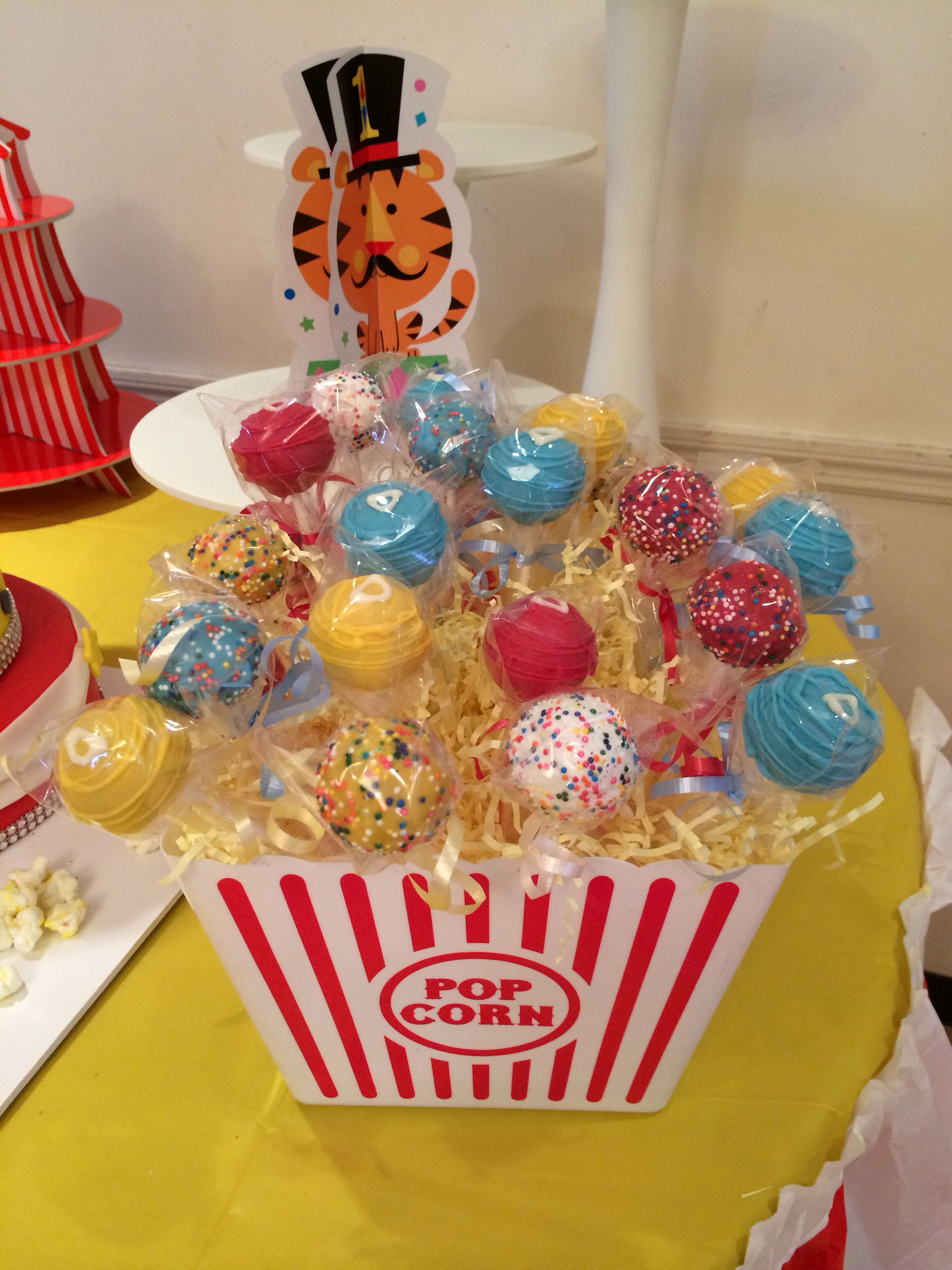 Carnival Cake Pops By Bak N Bud S