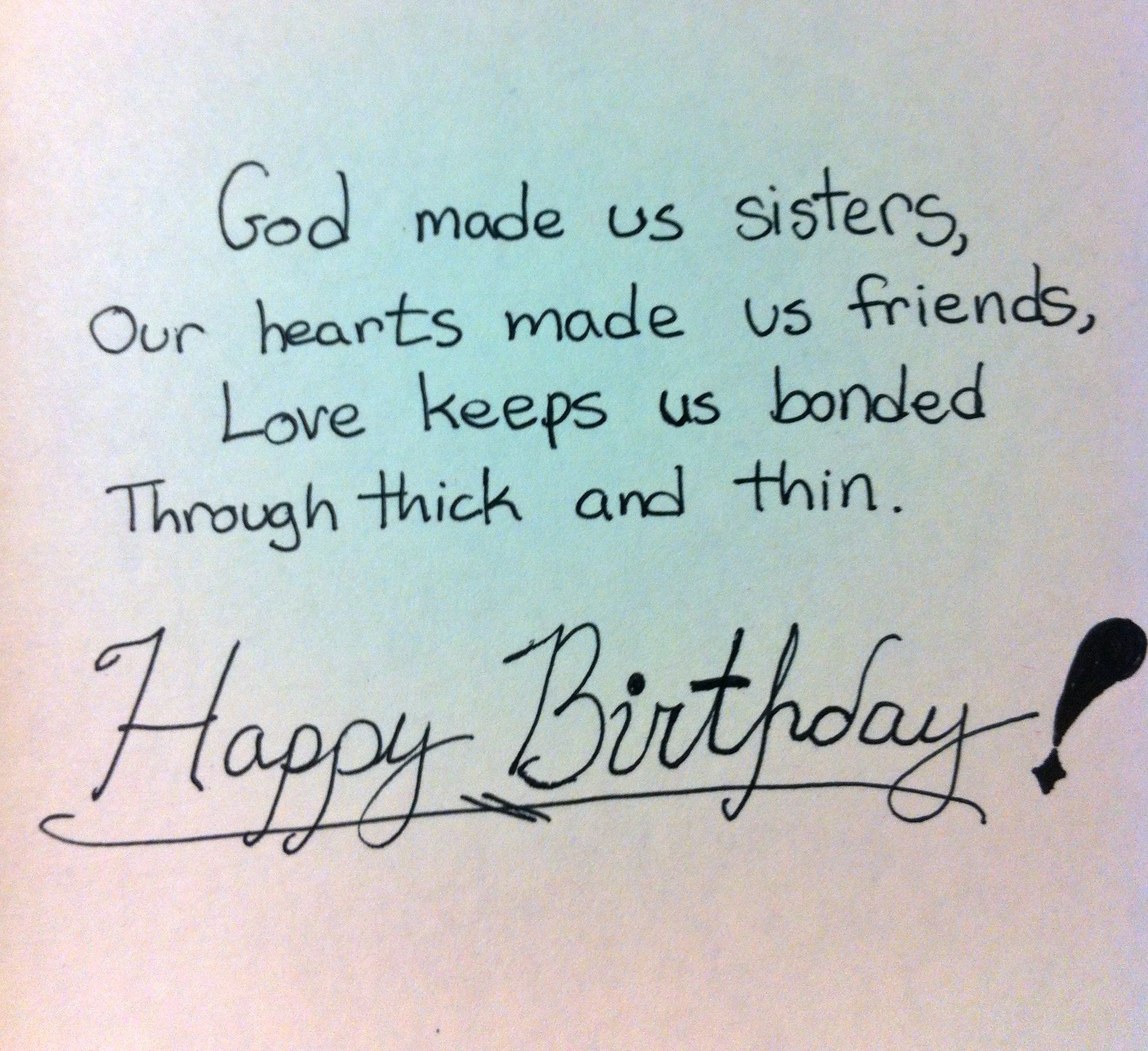 best happy birthday wishes for sister Birthday Wishes