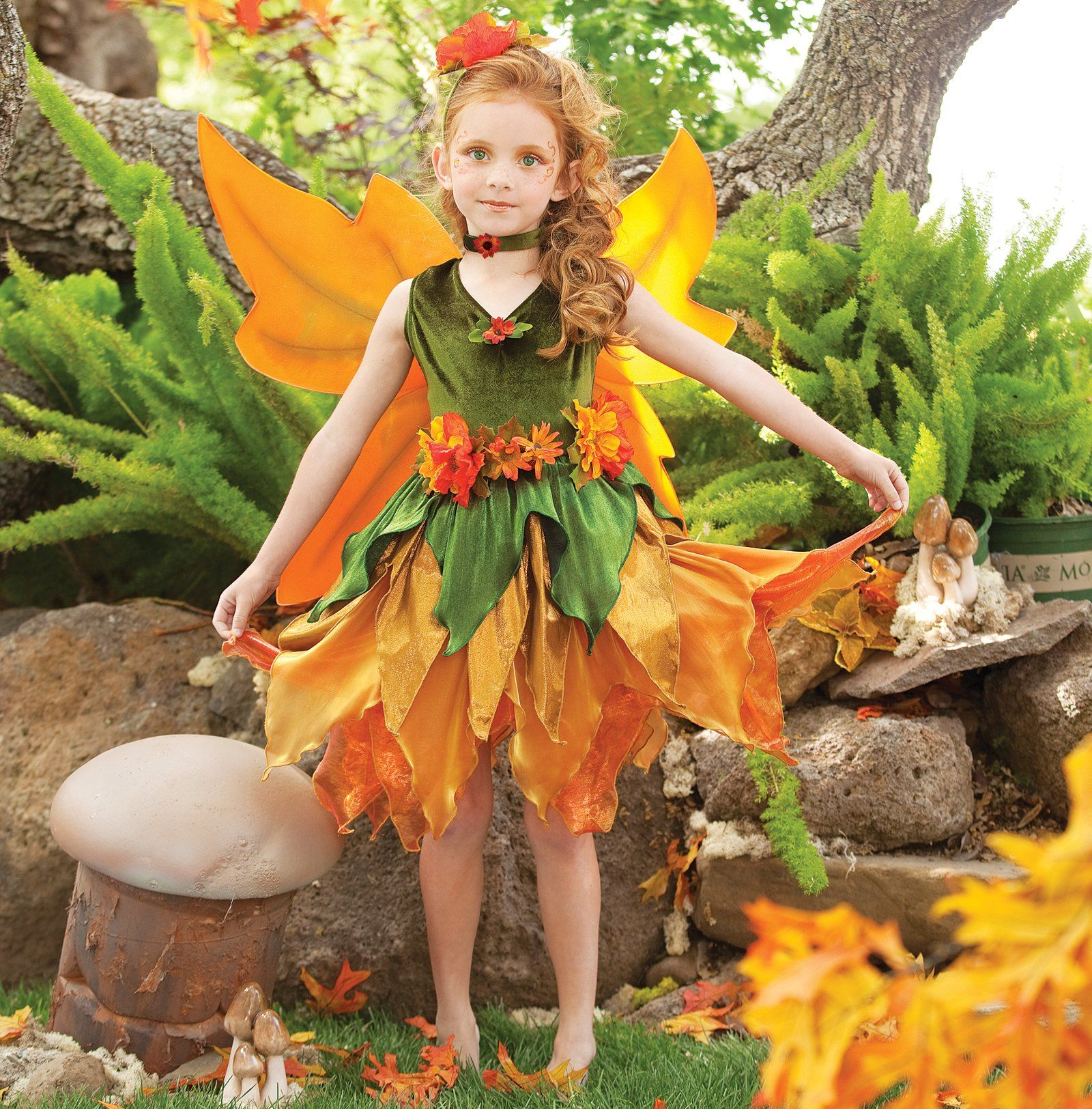Fall Fairy Child Costume Children costumes, Costumes and