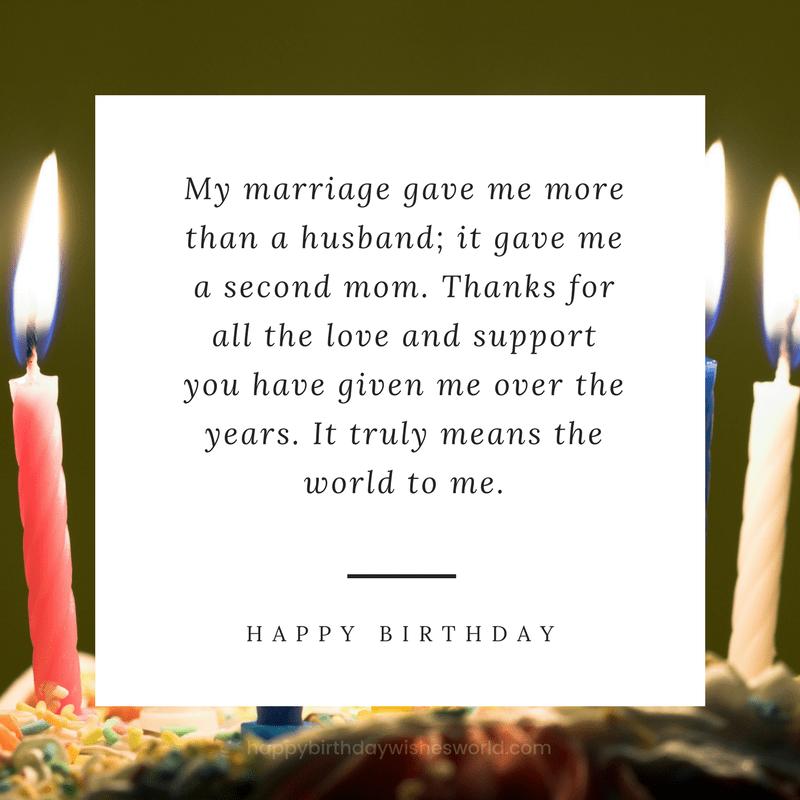 Happy birthday motherinlaw! Happy Birthday Motherin