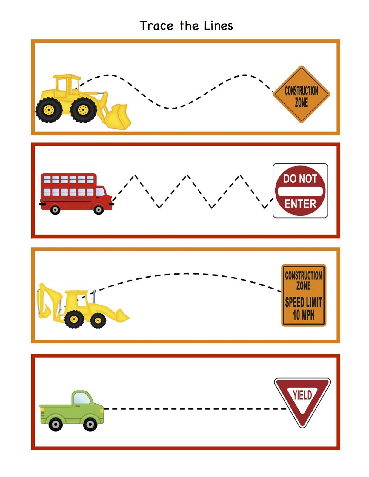 Construction Math Worksheets