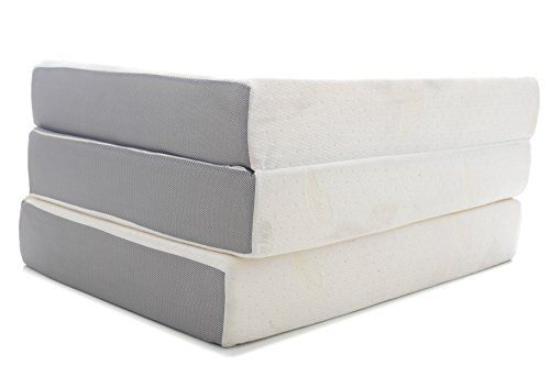 Milliard 6 Inch Memory Foam Tri Fold Mattress With Ultra Soft Removable Cover