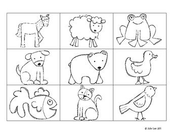 brown bear what do you see coloring pictures coloring page