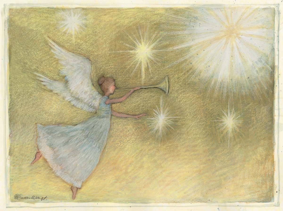 Susan Winget — Golden Angel Artisan Christmas Cards