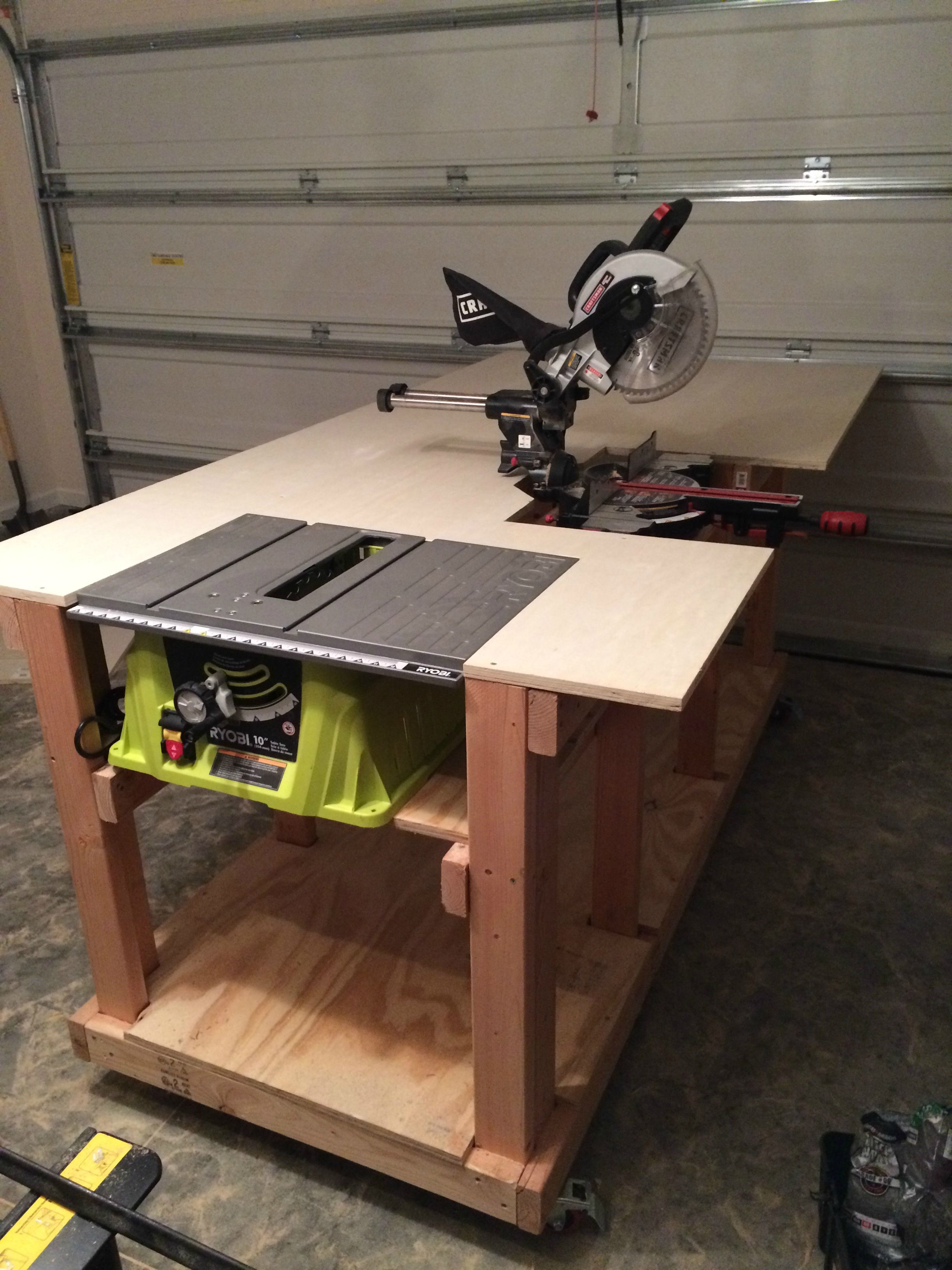 DIY Workbench Diy workbench, Woodworking and Wood working