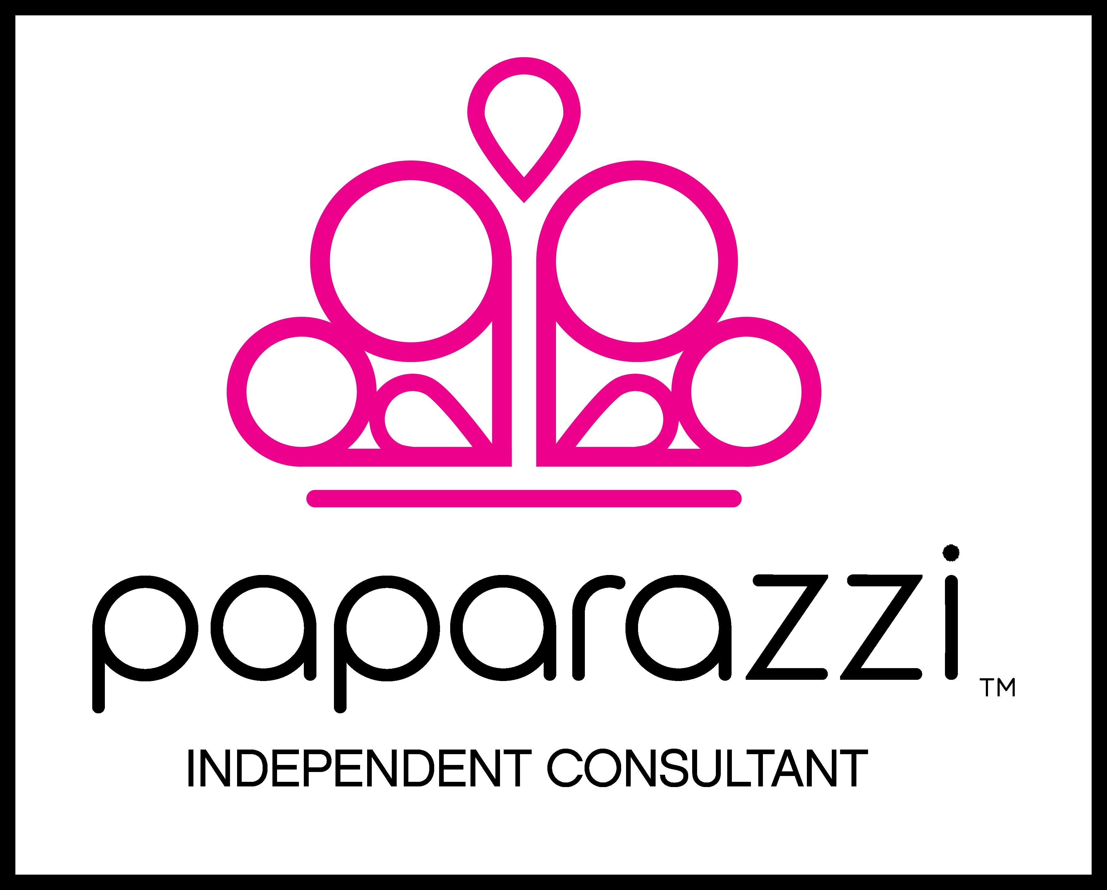 Paparazzi Independent Consultant Logo with black boarder