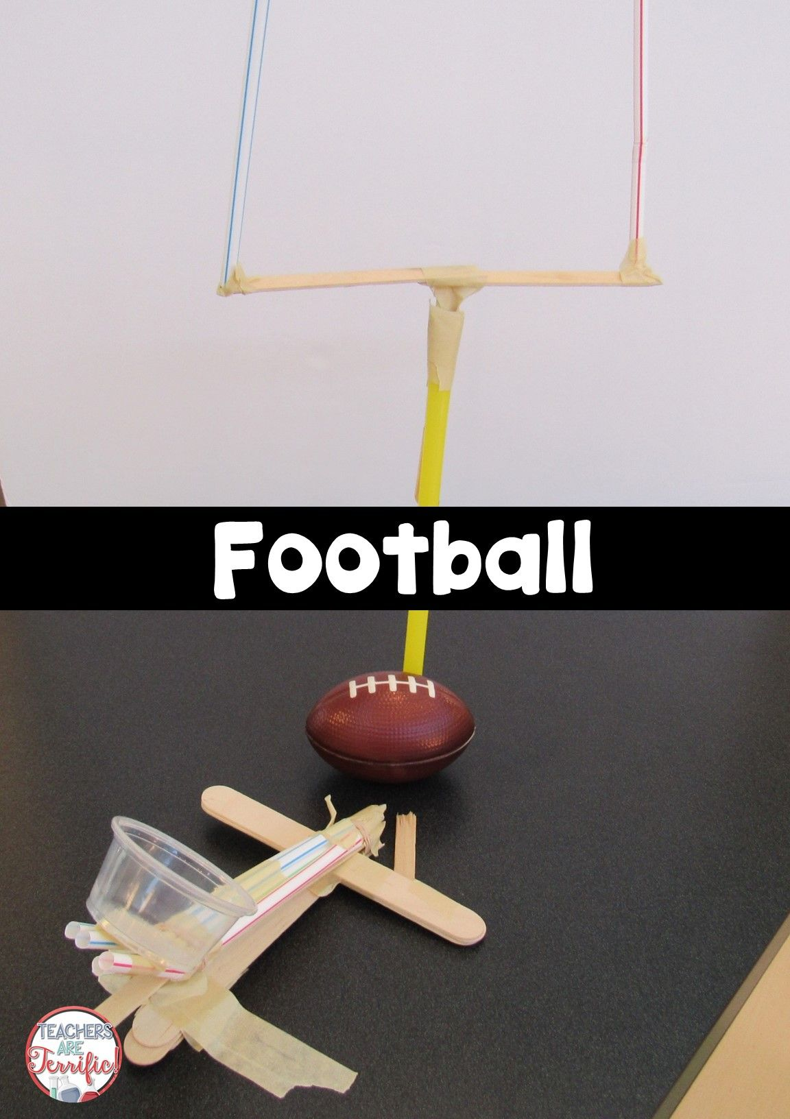Stem Football Goalposts Challenge