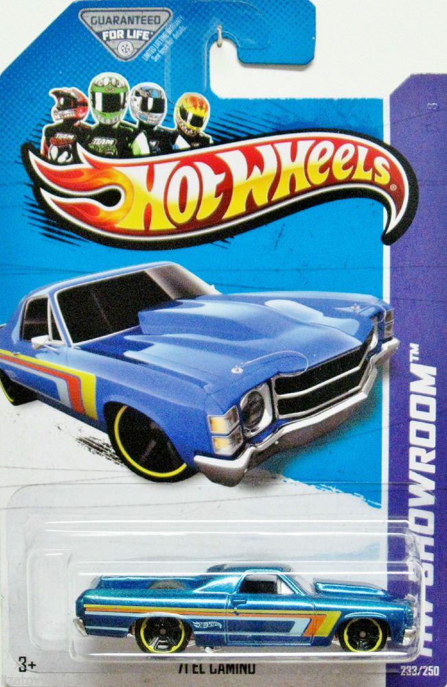 1971 Chevy El Camino Hot Wheels 2013 Showroom 233/250