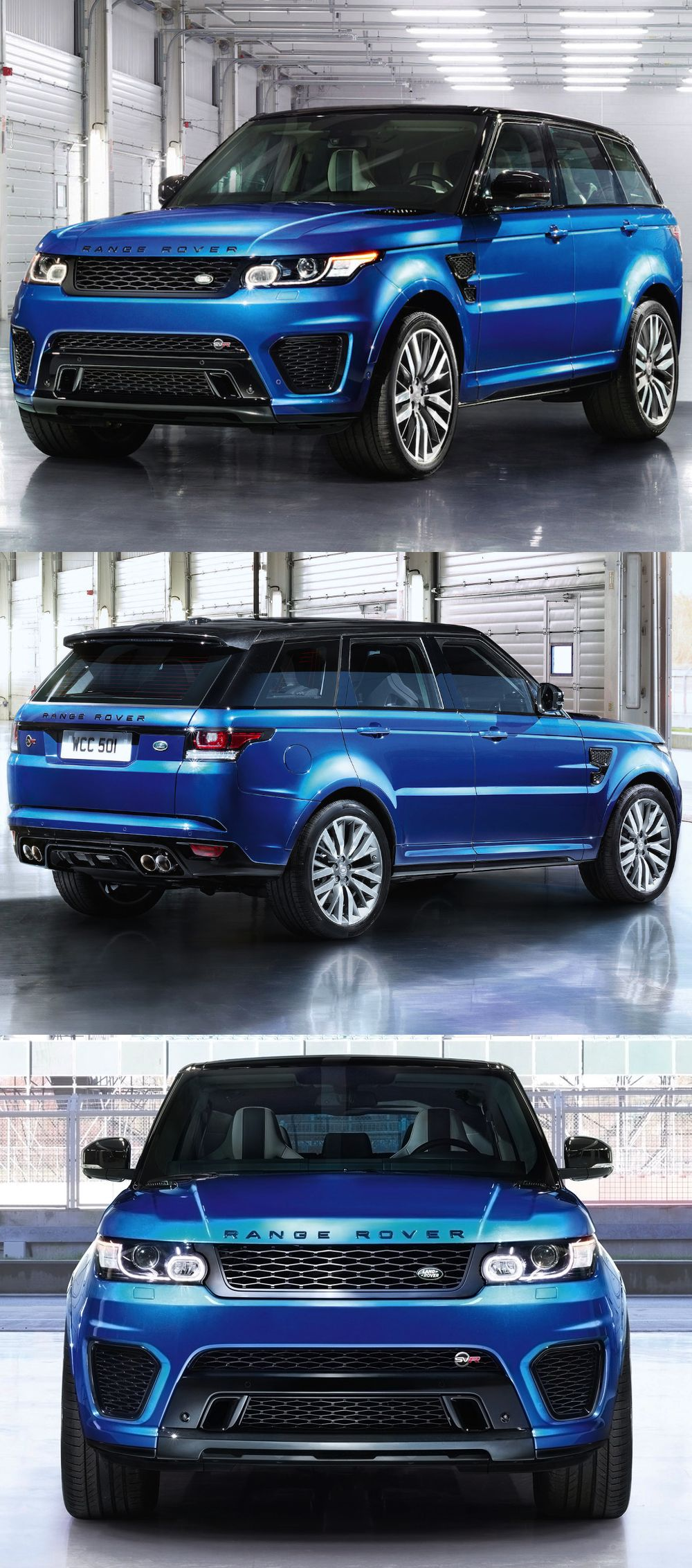 RANGE ROVER SPORT SVR Over hill over dale and over the top