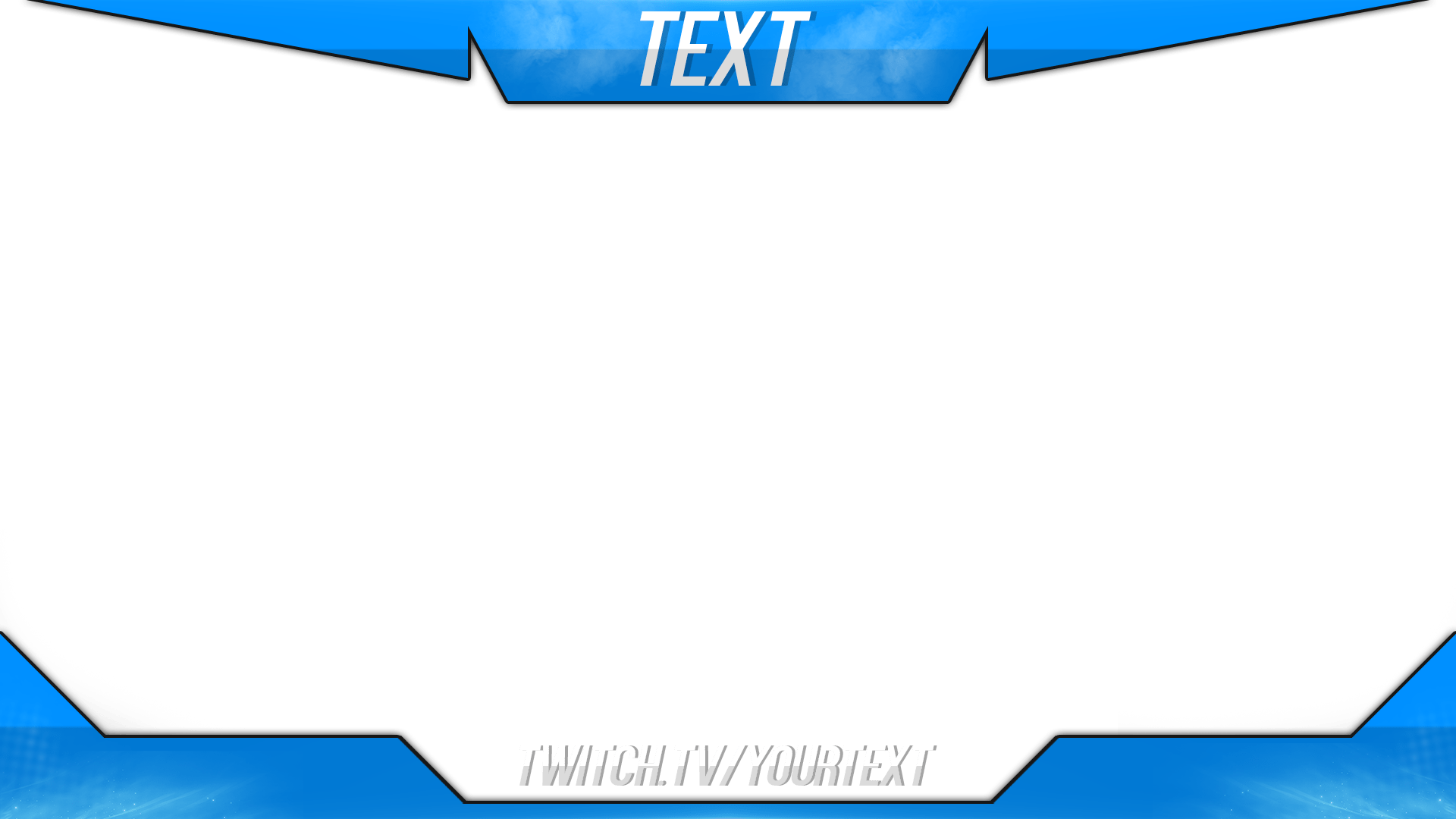 Twitch Overlay Template Psd Twitch stuff Pinterest