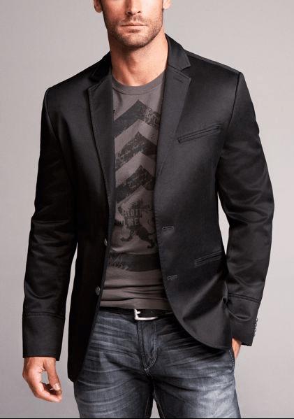 tshirt sport coat jeans Men's Fashion Pinterest
