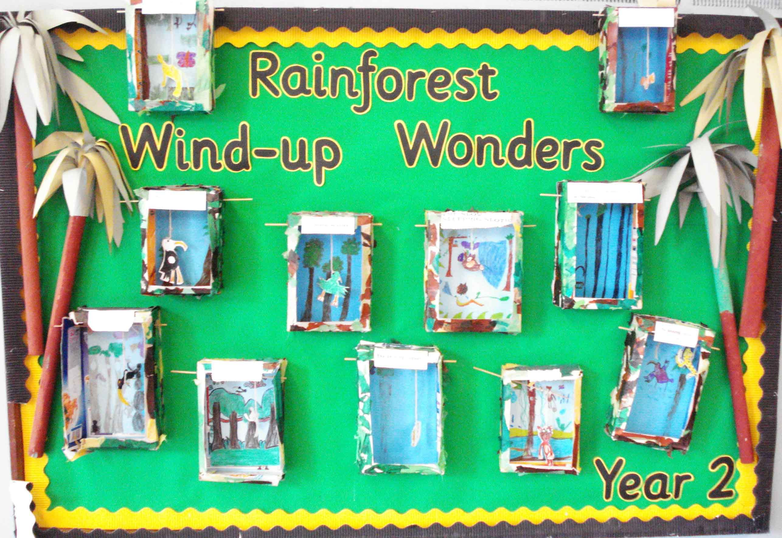 Rainforest Art Ks1