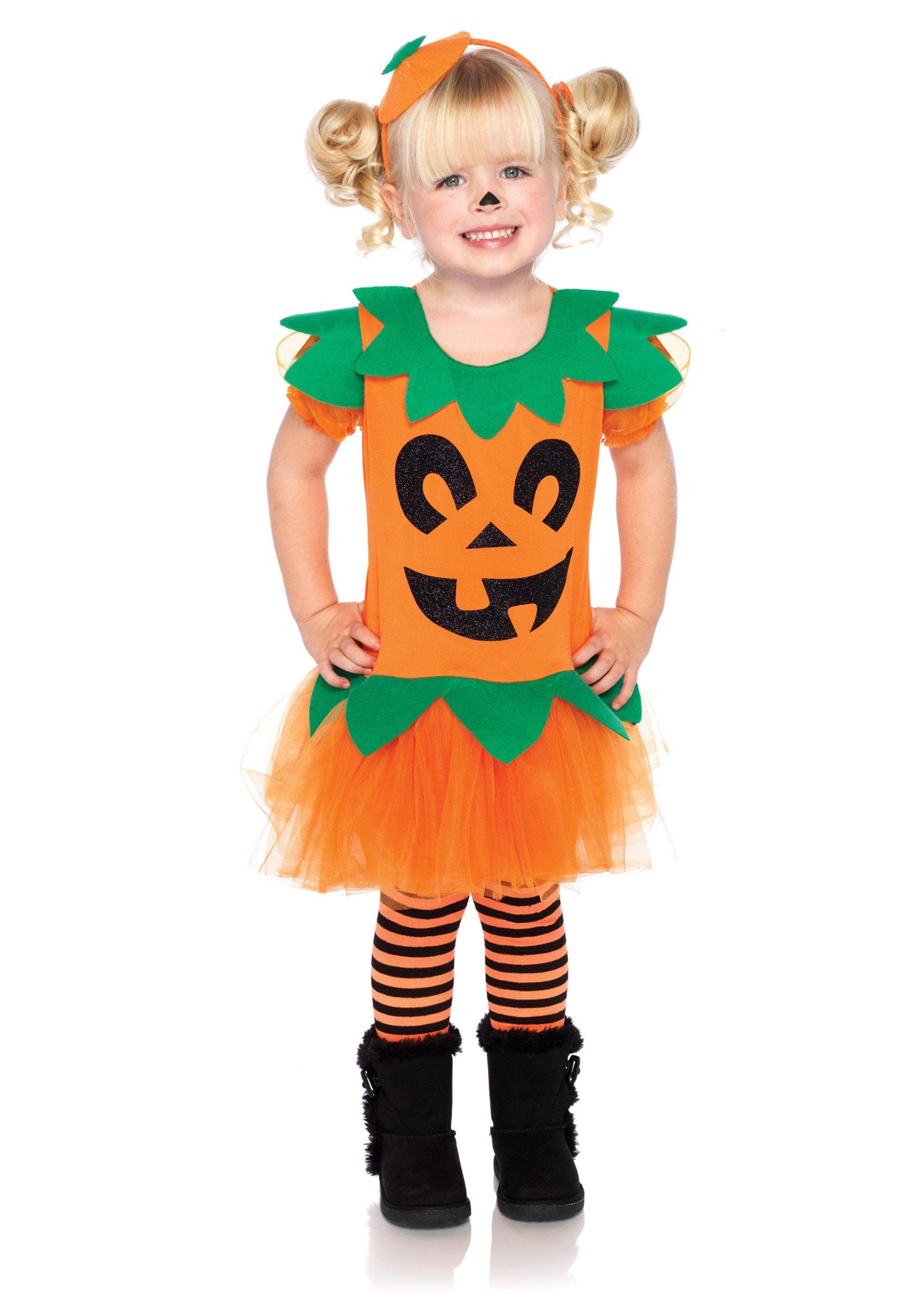 Child Pretty Pumpkin Costume buy now Halloween