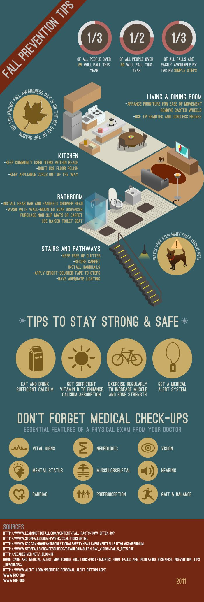 Fall Prevention Tips Repinned by your