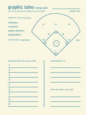 Baseball Roster Template FREE DOWNLOAD - Card template free: lineup card template