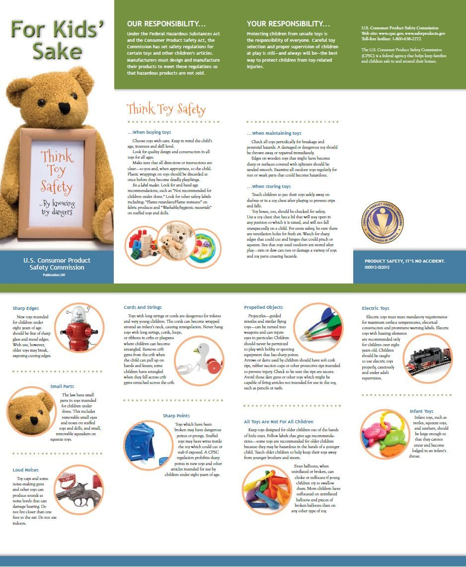 Think Toy Safety CPSC.gov http//www.cpsc.gov//PageFiles
