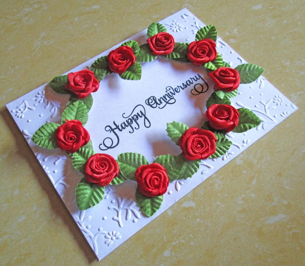 3. wedding anniversary card for husband cards to make