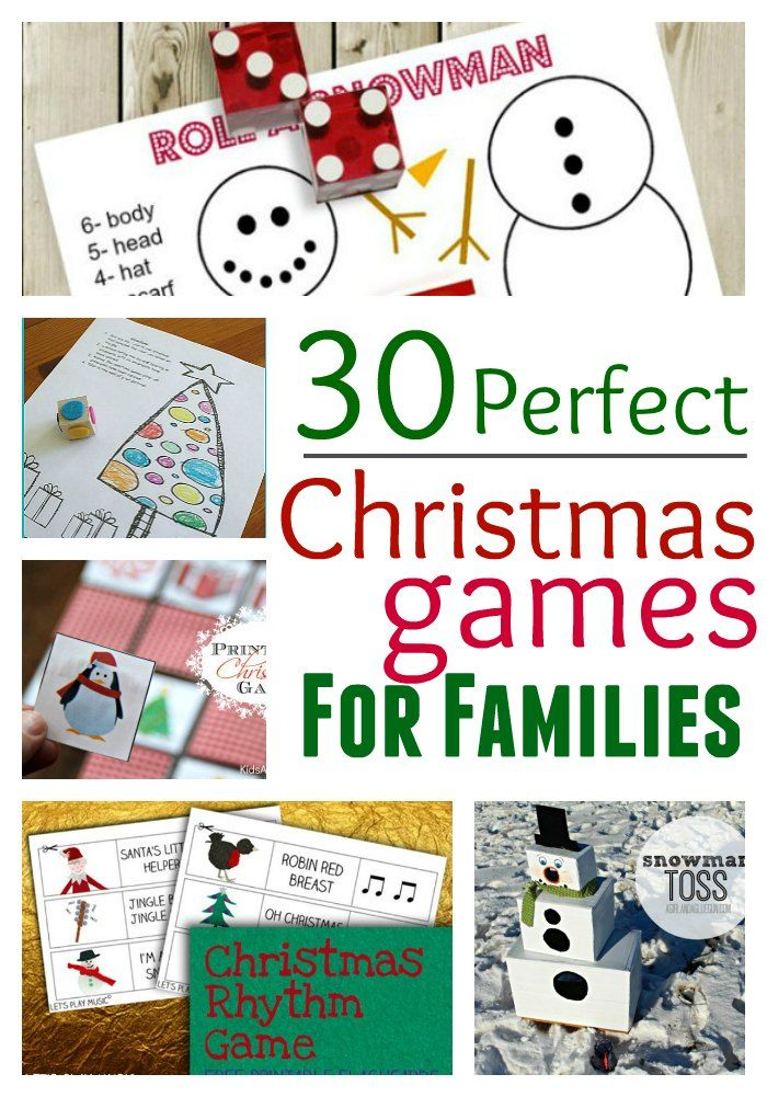 30 Perfect Christmas Games for Families 30th, Gaming and