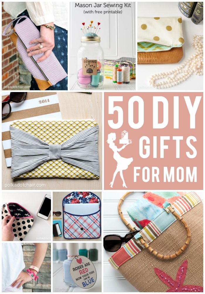 50 DIY Mother's Day Gift Ideas on