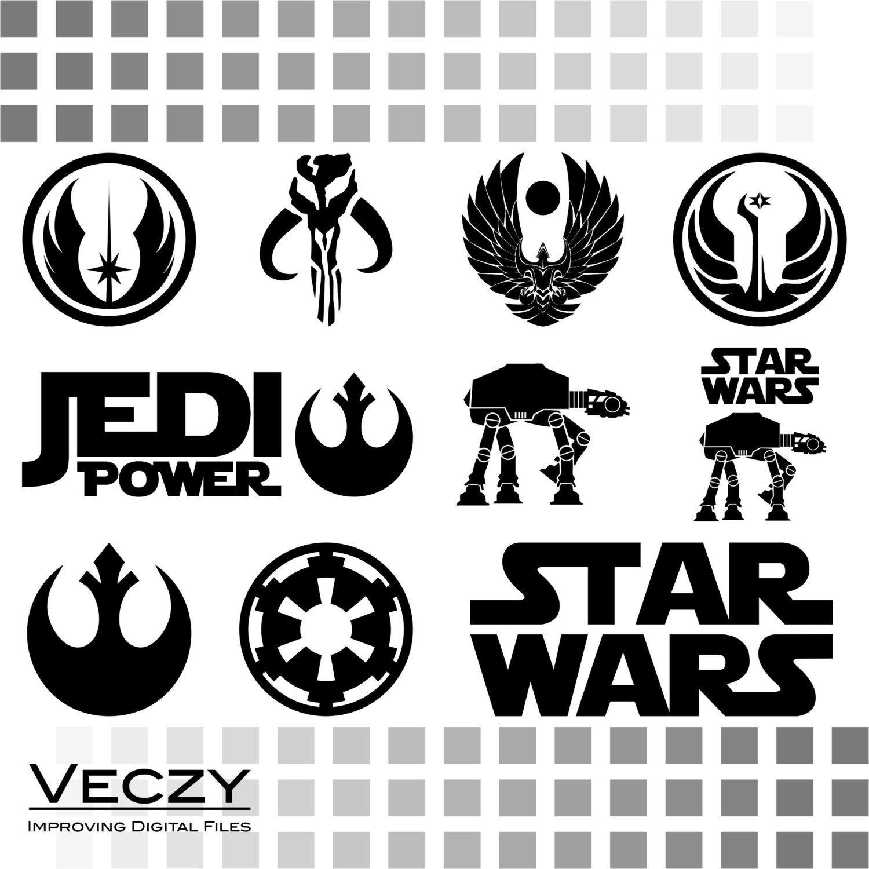 Star Wars svg, SVG Files, svg files for cricut, svg