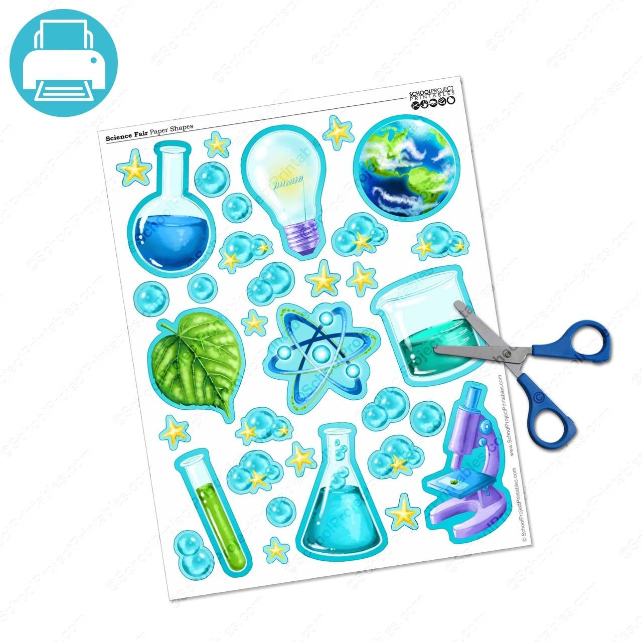 Science Fair Icons