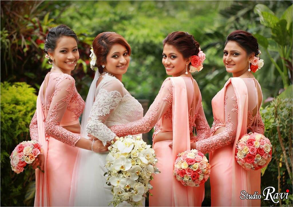 my cousin sister bridemaids Pinterest Saree