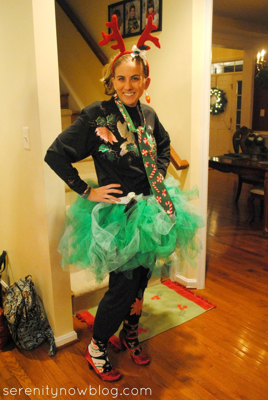 Ugly Christmas Sweater Party Ideas {Girls' Night Out} from