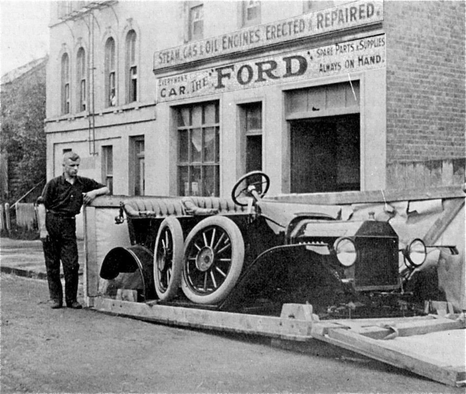 """Some Assembly Required A Model """"T"""" Ford as Delivered in"""
