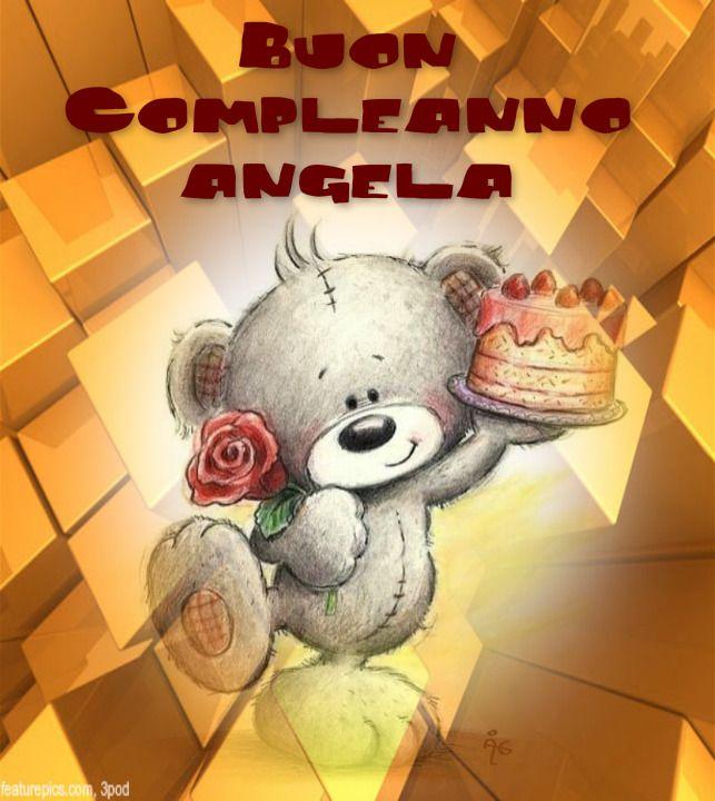Buon Compleanno Angela Compleanni Onomastici E