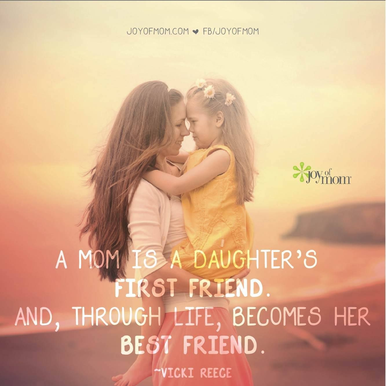 The bond between a mother and daughter is one of the most