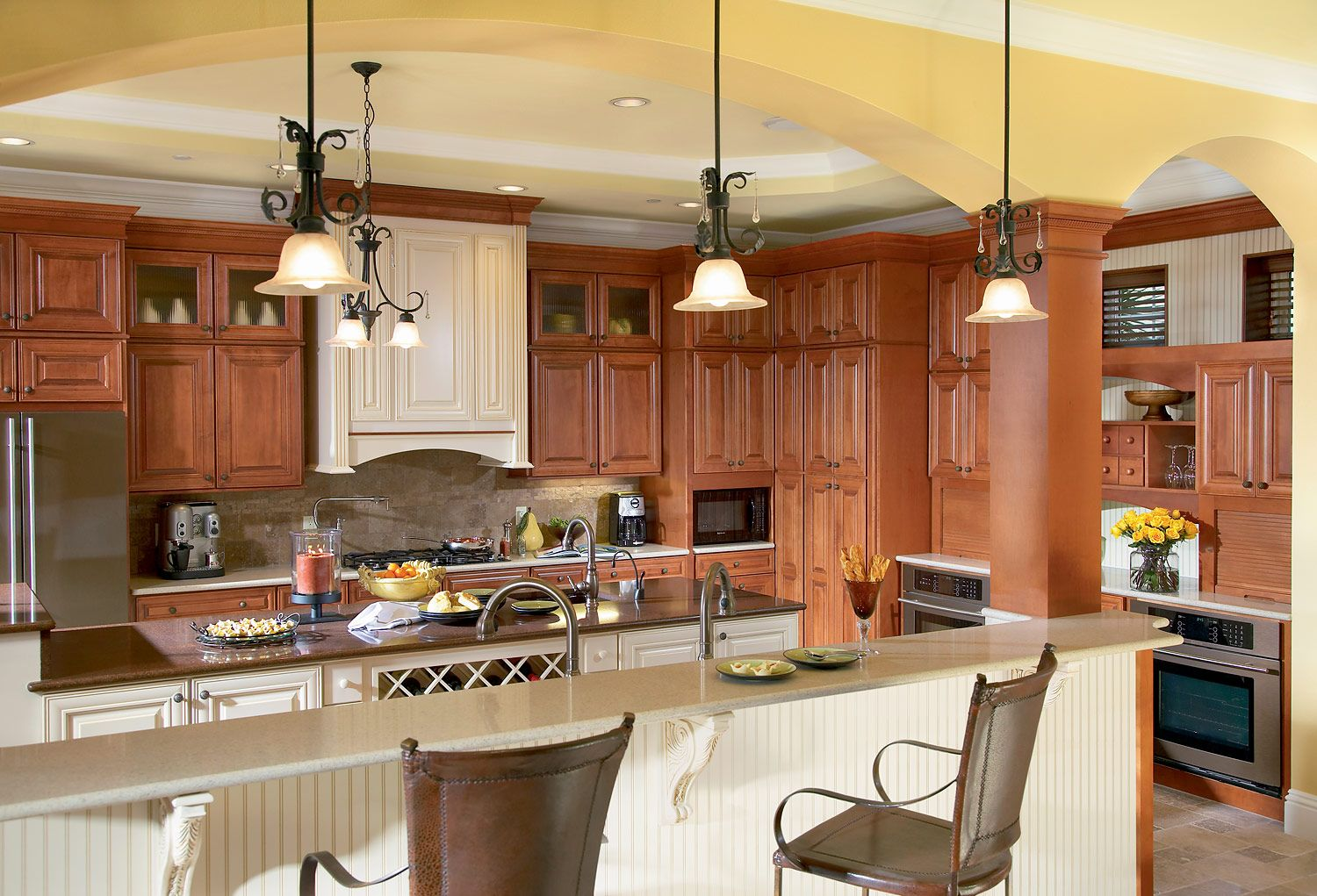Best Kitchen Gallery: I Need Your Advice Kitchen Corner Cabi S Kitchens Kitchen of Maple Cognac Kitchen Cabinets on cal-ite.com