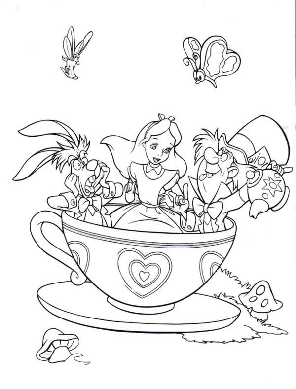 1000 images about tea coloring art print pages colouring for