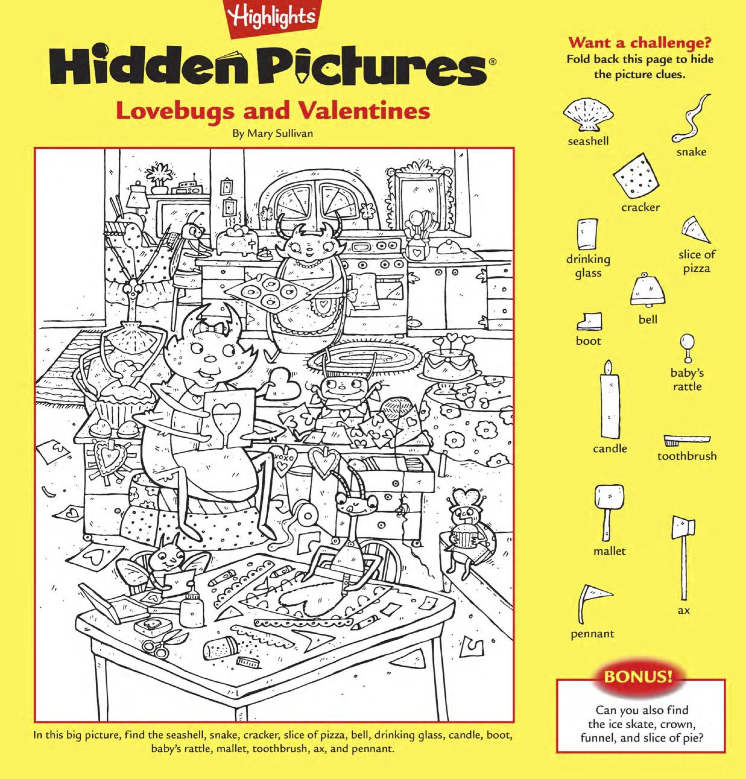 Download This Free Printable Hidden Pictures Puzzle For