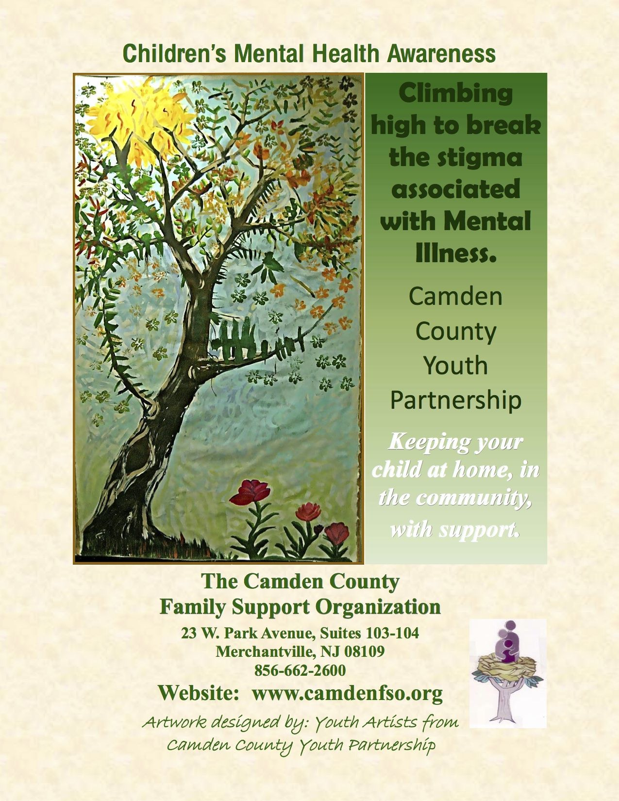 Poster for Children's Mental Health Awareness Month by