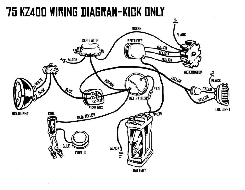 Kick only wiring diagram
