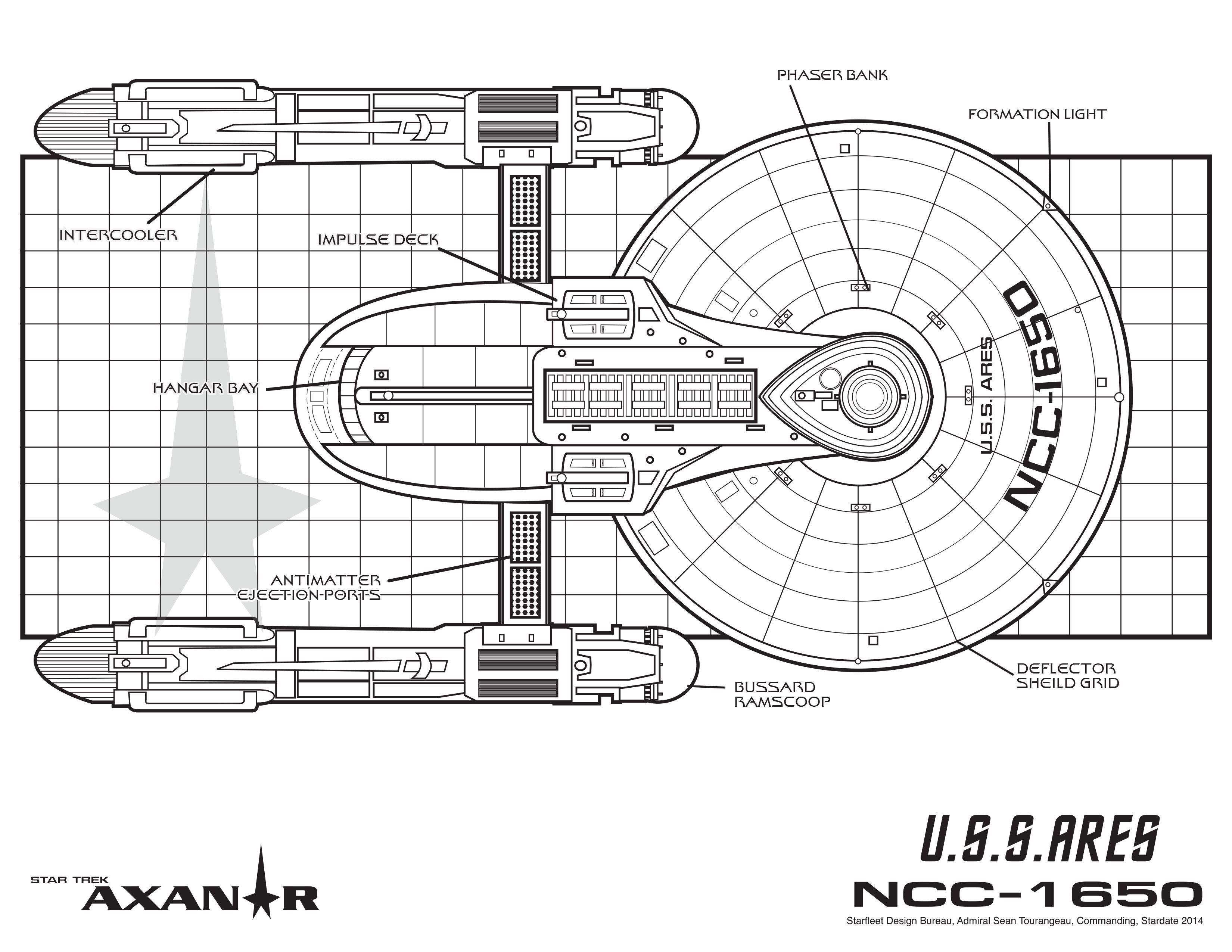 U S S Ares Ncc Star Trek Axanar